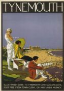 Tynemouth,  Tyne & Wear. Vintage LNER Travel Poster by Alfred Lambert